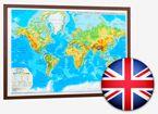 World Physical Map. (English)