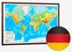 World Physical Map. (German)